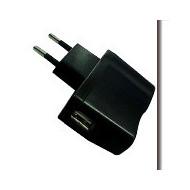 ADATTATORE  PRESA 220V. A 1 USB BLACK 1A