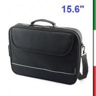 BORSA BPN-1042 PER NOTEBOOK Tasca interna in rete a zip per file ed accessoriTasca anteriore con velcro , tasca posteriore piatt