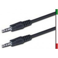 CAVO AUDIO Jack 3.5 M/M 1mt