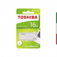 PEN DRIVE 16GByte USB 2.0 TOSHIBATRANSMEMORY U203 MOD.THN-U203W0160E4