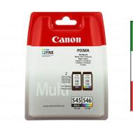 MULTIPACK CANON PG-545 + CL-546 8287B005 X PIXMA MG2450/MG2550