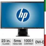 Monitor LED 23 HP E231 USATO  PRIMA SCELTA GRADE A - FULL HD - PIVOT - 5MS - VGA - DVI - DISPLAY PORT -1920*1080- HUB USB C9V75A