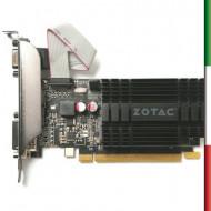 SVGA ZOTAC ZT-71302-20L NVIDIA GT 710 2GB DDR3 PCIE2.0 64BIT DVI HDMI VGA DIRECTX12 OPENGL4.5