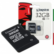 SD Memory Card MICRO 32Gbyte KINGST CL10