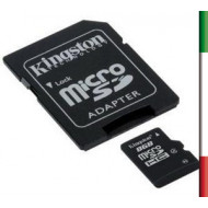 SD Memory Card MICRO 8Gbyte KINGSTON HC