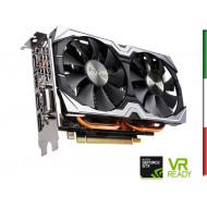 SVGA ZOTAC ZT-P10600B-10M NVIDIA GTX 1060 6GB AMP! EDITION DDR5 PCIE3.0 DVI HDMI 3XDP DUAL-SLOT ATTIVA GARANZIA