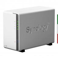 NAS SYNOLOGY DS216J X 2HD 3.5/2.5 SATA2/3>NO HD