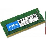 MEMORIA DDR4 SO-DIMM 8GB 2133MHZ NOTEBOOK CT8G4SFS8213 CRUCIAL CL15 SINGLE RANK