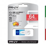 PEN DRIVE USB3.0 64GB PNY MOD FD64GATT430-EF