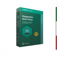 SOFT. KASPERSKY ANTIVIRUS BASE 2018 3PC Windows Vista - Xp -WIN7/8/10 - 1 PC