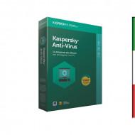 SOFT. KASPERSKY ANTIVIRUS BASE 2018 3PC Windows Vista - Xp -WIN7/8/10 - 1 PC