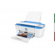 STAMPANTE HP MFC INK DESKJET 3720 J9V93B 3IN1 WHITE/BLUE A4 15/19 PPM WIFI USB2.0 EPRINT 600DPI 40.3X17.7X14.1CM 1Y