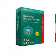 SOFT. KASPERSKY INTERN SECURITY 2018 1PC per Windows Vista - Xp - Win7/ WIN10 Per 1Pc KL1941T5AFS-8ATT