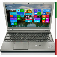 NOTEBOOK LENOVO USATO  PRIMA SCELTA GRADE A THINKPAD W540  - INTEL i7-4800QM - RAM 16 GB - DISPLAY 15,6 FULL HD  - WINDOWS  10