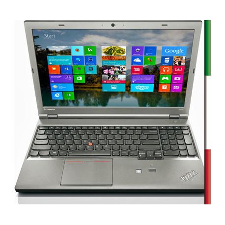 NOTEBOOK LENOVO USATO  PRIMA SCELTA GRADE A THINKPAD W540  - INTEL i7-4800QM - RAM 16 GB - DISPLAY 15,6 FULL HD  - WINDOWS  10