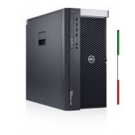 WORKSTATION DELL PRECISION T5600 - GRADE A  RICONDIZIONATA - INTEL XEON 8 CORE E5-2650 -  SVGA QUADRO K2000 2GB  - 32GB RAM - SS