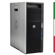 WORKSTATION Z420 GAMING HP WORKSTATION Z420 HP RICONDIZIONATA - INTEL XEON QUAD XEON E5-1603 - SVGA NVIDIA QUADRO K2000 GB - 16G