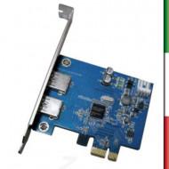 SCHEDA 2 PORTE USB3 PCI EXPRESS ATLANTIS