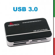 Lettore di schede 85-IN-1 PLUG&PLAY , USB 3.0 , 5GbpsCompatibile MicroSD / SD / MS/ MMC/ XD/ CF/ M2
