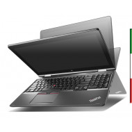 "NOTEBOOK USATO CONVERTIBILE  LENOVO THINKPAD S5 - YOGA 15 "" PRIMA SCELTA GRADE A e KIT TASTIERA ITALIANO"" - DISPLAY 15,6 FULL H"