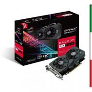 SVGA ASUS ROG-STRIX-RX560-O4G-EVO-GAMING AMD RX560 4GDDR5 128BIT 1XDVI-D 1XHDMI 1XDP HDCP 5120X2880 2-SLOT 90YV0AH6-M0NA00