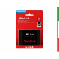 """HDD SSD-SOLID STATE DISK 2.5"""" 480GB SATA3 SANDISK SDSSDA-480G-G26 up TO 535 MB/s"""