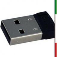 BLUETOOTH MINI ATLANTIS P008-USB06H CLASSE 2 EAN 8026974016283 -GARANZIA 2 ANNI-