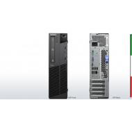 PC LENOVO M91P SFF - INTEL QUAD CORE  I5-2400 - SVGA INTEL HD2000  - 4GB RAM - HD 500GB 7,2  - DVDRW - Windows 10 PRO-  USATO-