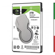 "HDD NOTEBOOK SATA3 2.5"" 2TB SEAGATE BARRACUDA ST2000LM015 5400RPM 128MB CACHE 7MM"