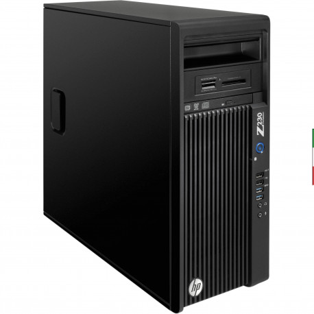 PC HP WORKSTATION Z230 GAMING RICONDIZIONATO INTEL QUAD CORE  I7-4770 - SVGA NVIDIA GTX 1060 6GB NEW - 16GB RAM - SSD 250GB  -
