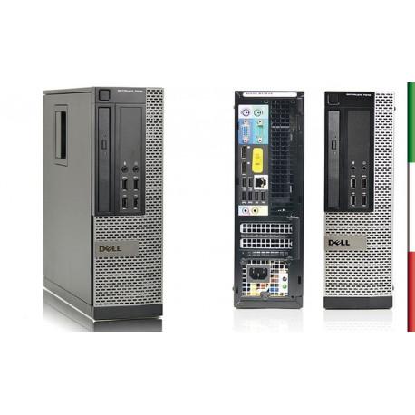 PC DELL OPTIPLEX 7010 MINI RICONDIZIONATO INTEL QUAD I5-3570 - SVGA INTEL HD2500 - 8GB RAM - SSD 128GB - DVD - Windows 10 PROFE