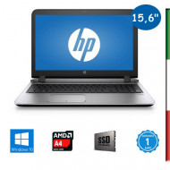 "NOTEBOOK USATO HP PROBOOK 455 G3 "" PRIMA SCELTA GRADE A  e KIT TASTIERA ITALIANO""  - DISPLAY 15,6   HD 1366x768 - AMD QUAD CORE"