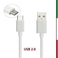CAQ-84-WT CAVO USB2.0 TIPO C/A M/M 1M