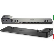 DOCKING STATION HPULTRASLIM D9Y32AA (no aliment ) COMPATIBILE PER MODELLI HP