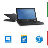 NOTEBOOK USATO DELL LATITUDE E5450 - INTEL  I5-5300U - RAM 8GB SSD 250GB  - DISPLAY 14,1 FULL HD 1980x1080 -WEBCAM  - SVGA INTE