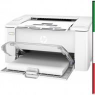 STAMPANTE HP LASERJET PRO M102A G3Q34A WHITE A4 22PPM 128MB 600DPI USB 1Y