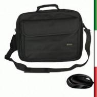 BORSA BPN-1042 PER NOTEBOOK Tasca interna in rete a zip per file ed accessoriTasca anteriore con velcro , tasca poster