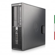 WORKSTATION HP Z220 FORMATO SFF HP RICONDIZIONATA INTEL QUAD CORE I5-3470 - RAM 8GB - SVGA INTEL HD2500 -  HDD 500GB 7,2G - Win