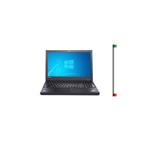 "NOTEBOOK LENOVO USATO "" PRIMA SCELTA GRADE A"" THINKPAD W540 - INTEL QUAD CORE i7-4800QM - RAM 16 GB - DISPLAY 15,6 FULL HD - WI"