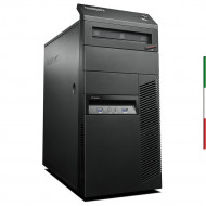 PC LENOVO M83 TOWER RICONDIZIONATO INTEL QUAD CORE  I7-4770 - SVGA INTEL HD4600 - 8GB RAM - SSD 250GB  - DVDRW -  Windows 10 PR