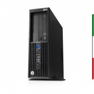 WORKSTATION HP Z230 FORMATO SFF HP RICONDIZIONATA INTEL QUAD CORE XEON E3-1226 V3  - RAM 8GB - SVGA AMD HD 6450 1GB -  HDD 1TB