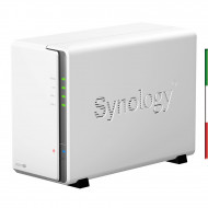 BOX 2x3.5 SYNOLOGY NAS GIGABIT DS216SE DUAL-CORE 800Mhz NO hdd