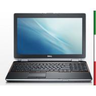 """NOTEBOOK USATO DELL LATITUDE E6520 """" PRIMA SCELTA GRADE A""""   DISPLAY 15,6 HD - INTEL I5-2520M - RAM 4GB - HDD 250GB 7,2G -  WIN"""