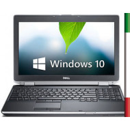 """NOTEBOOK USATO DELL LATITUDE E6530"""" PRIMA SCELTA GRADE A e KIT TASTIERA ITALIANO""""    DISPLAY 15,6 HD - INTEL I5-2520M - RAM 4GB"""