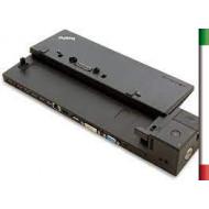 Docking Station Lenovo ThinkPad mod 40A1/40A2 (no alimentatore) compatibile con :Lenovo Thinkpad L540, L560, P50s, T550, T560,