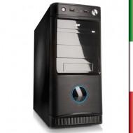 CABINET MidTower i-Tek VIC B8816-500W 500W - Black/Silver