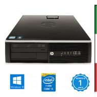 PC HP 8300 USATO INTEL I5-3470- HD4000 INTEL- 8GB RAM - HD 500GB 7,2G - USB3,0 - DVD - Windows 10 PROFESSIONAL- 12 MESI GARANZI