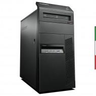PC LENOVO M83 GAMING TOWER RICONDIZIONATO INTEL QUAD CORE  I7-4770 - SVGA GT 1030 2GB - 8GB RAM - HDD 500GB 7,2G  - DVDRW -  Wi