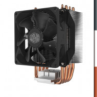 VENTOLA X CPU COOLER MASTER RR-H412-20PK-R2 HYPER H412R NON LED INTEL LGA775/2066 AMD AM4/FM2+ 92X92X25MM 29.4DBA 600-2000RPM 4