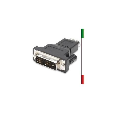 ADATTATORE da DVI digitale femmina a HDMI F